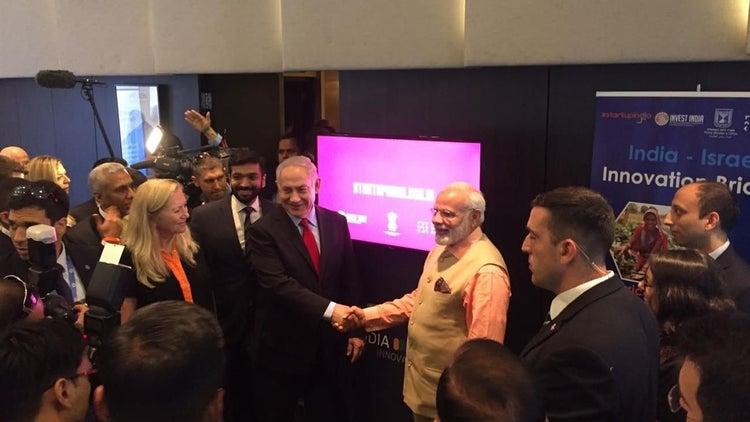 """India-Israel Innovation Bridge"" Launches"