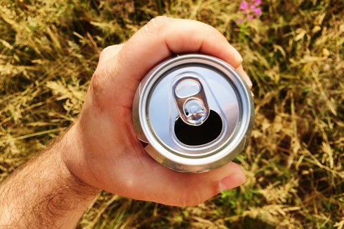 Australian Traveler Checks a Single Can of Beer as His Luggage