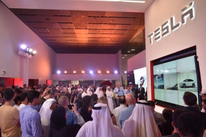 Tesla Opens Its First Middle East Store In Dubai