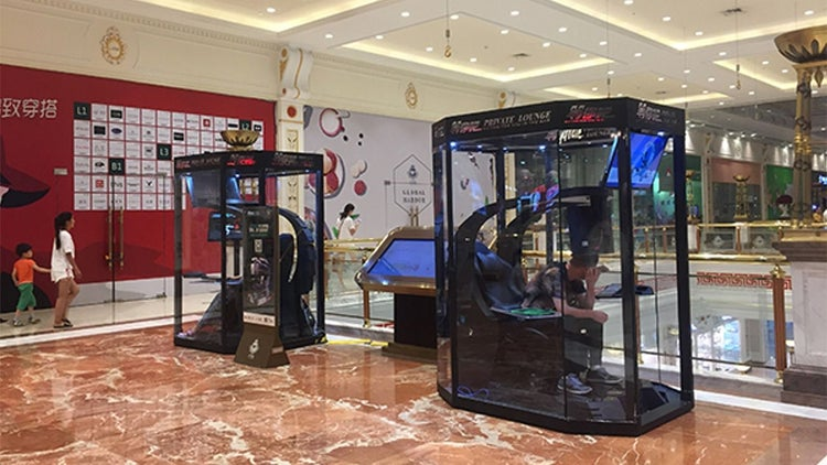 Chinese Mall Introduces Husband Storage Pods
