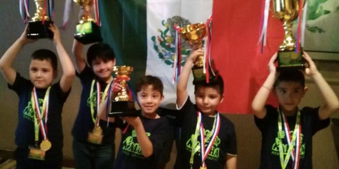 Niños mexicanos triunfan en campeonato internacional de cálculo mental