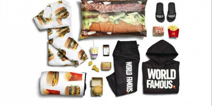 ¡Pijamas con hamburguesas! McDonald's sacará su línea de ropa