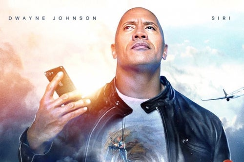 Dwayne 'The Rock' Johnson Made a Siri Movie