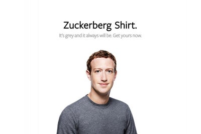 For $46, You Can Dress Just Like Mark Zuckerberg