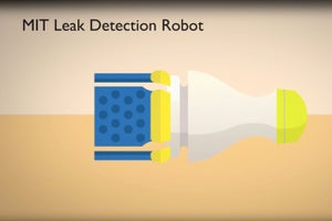 This Little Robot Finds Leaks in Water and Gas Pipes