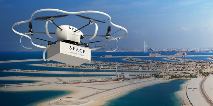 Drone Delivery Could Soon Be Coming To Dubai