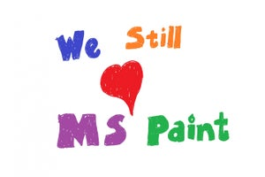 Microsoft: MS Paint Isn't Dead, It's Just Moving
