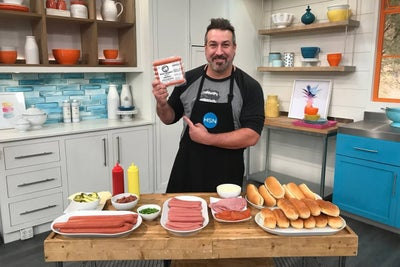 N'Sync's Joey Fatone Bites Into the Hot Dog Business