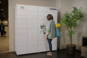 Amazon Hub Safely Stores All Your Home Deliveries
