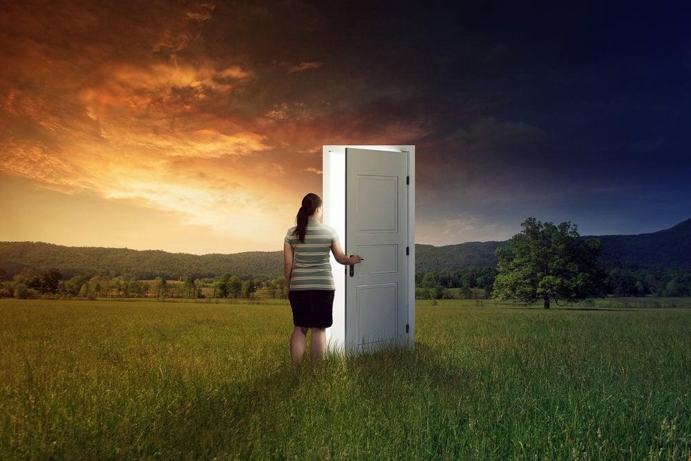 When one door of happiness closes