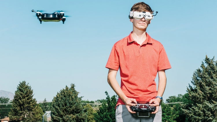 The iPhone of Drones Is Being Built by This Teenager