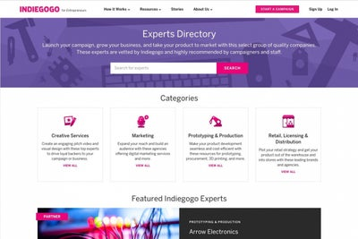 Indiegogo's New Hub for Entrepreneurs Is an Important Reminder to Us A...