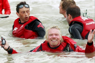 A Day in the Life of Billionaire Richard Branson, Who Always Carries a...