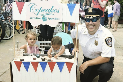When He's Not Booking Criminals, He's Baking Cupcakes. How This Police Chief Turned a Hobby Into a Business.