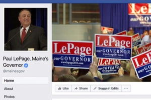 Maine Governor Sued for Deleting Facebook Comments