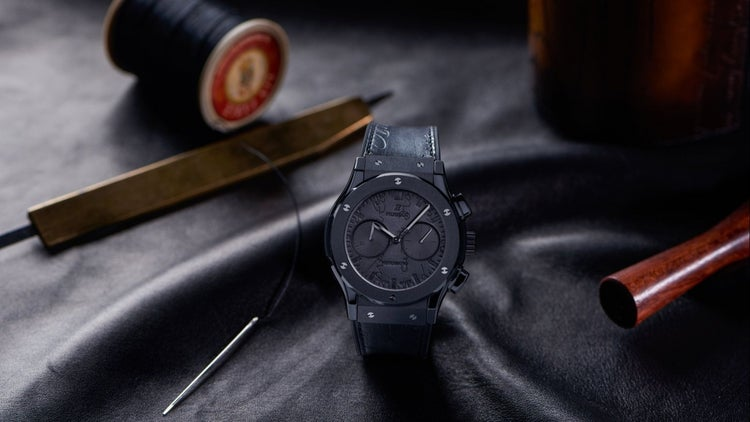 The Executive Selection: Hublot Classic Fusion Chronograph Berluti