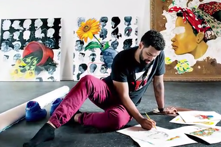 What Growing Up on the South Side of Chicago Taught This Visual Artist About Hustling