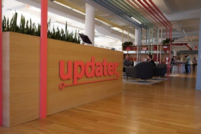 Tour the Clever, Multi-Purpose Office Designed for This Growing Moving...
