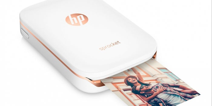 Print On The Go: HP Sprocket Photo Printer