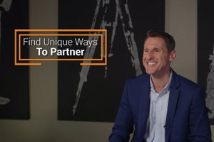 Find Unique Ways to Partner
