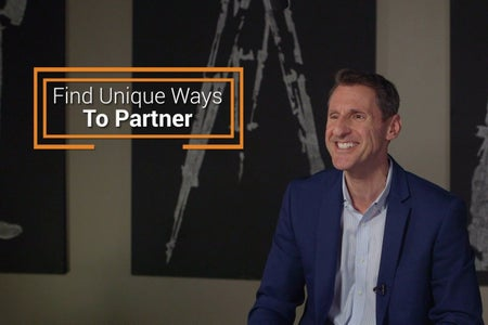 Find Unique Ways to Partner