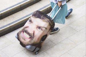 This Hilarious Travel Case Ensures You'll Never Lose Sight of Your Luggage Again