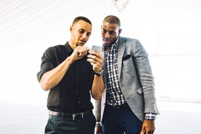 How Steph Curry & Andre Iguodala Are Scoring in Tech