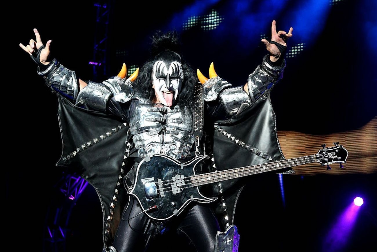 kiss frontman gene simmons says success comes to those who