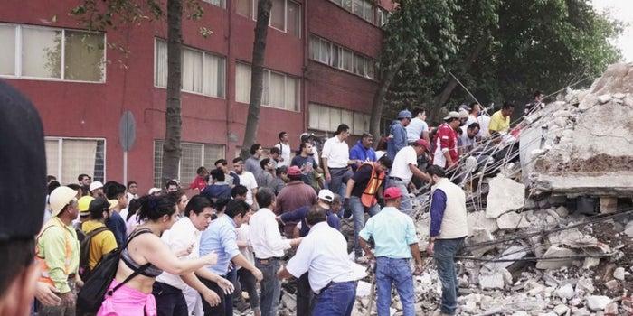 Servicios para localizar a desaparecidos en sismos