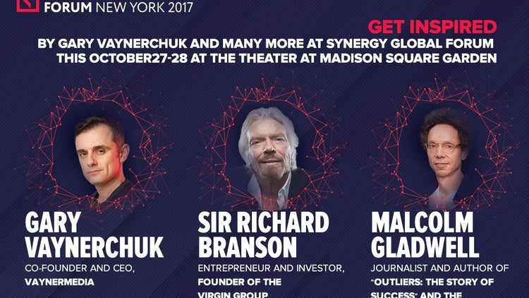 Synergy Global Forum Tickets on Sale Now