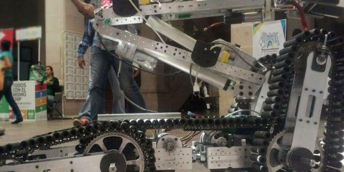 Este es el robot mexicano que ayuda a los rescatistas