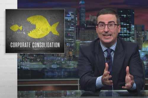 John Oliver on the Ways We All Get Screwed by Mergers and Acquisitions