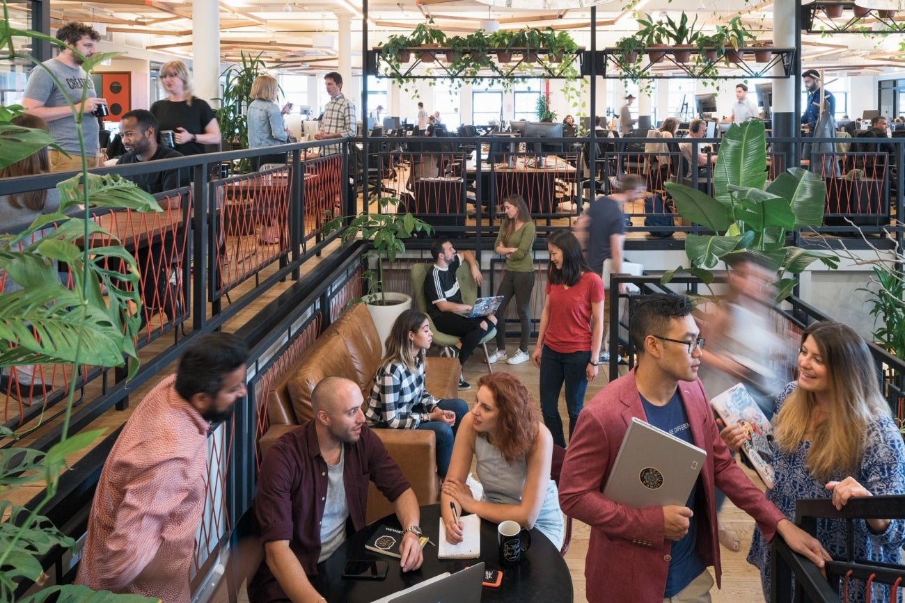 WeWork's Headquarters Is the Ultimate Co-Working Space