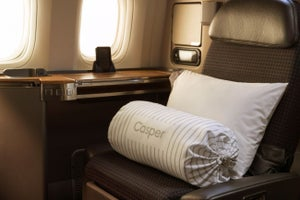 American Airlines Teams up With Casper for Upgraded Pillows and Bedding