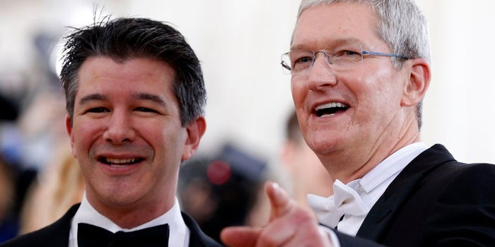 Apple Gave Uber's App 'Unprecedented' Access to a Secret Backdoor That Can Record iPhone Screens