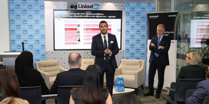 Infographic: LinkedIn And Strategy&'s Empowering The GCC Digital Workforce Study