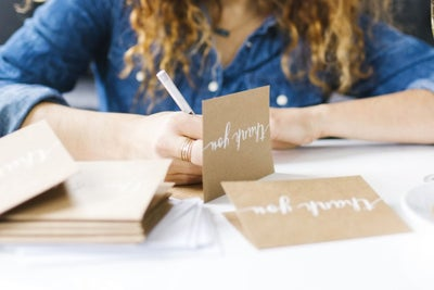 Why Writing a Thank-You Note Should Be as Automatic as Brushing Your T...