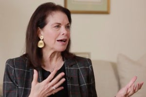 The First Woman to Head a Hollywood Movie Studio Shares the One Thing You Need to Succeed