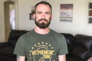 This Military Veteran Entrepreneur Fired Himself to Jump Start His Passion Project