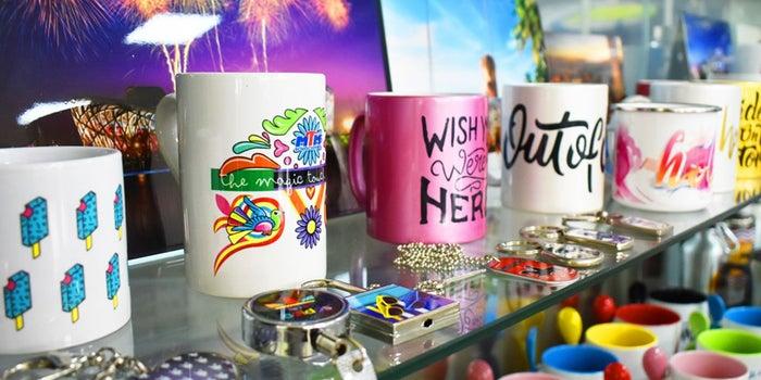 El arte del éxito: Sublimación en decoración de productos