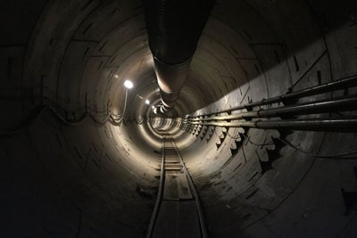 Elon Musk Offers Peek at Traffic-Dodging Tunnel in Los Angeles