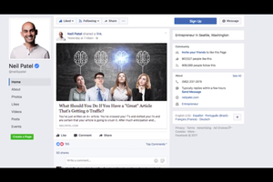 Build Your Brand on Facebook With 3 Quick Tricks