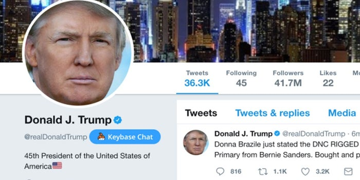 Twitter Employee Deactivates Trump Account on Last Day