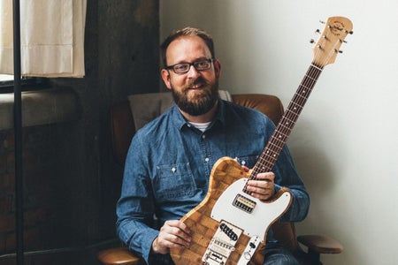 He Makes Guitars Out of Torn-Down Buildings in Detroit. Does That Rock Or What?