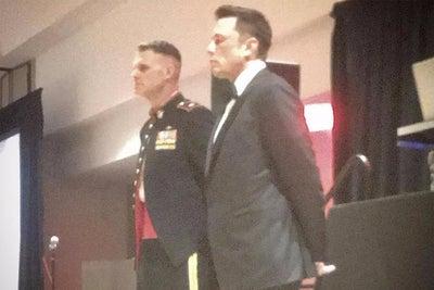 Elon Musk Made a Secret Appearance to Elite U.S. Marines and Gave a St...