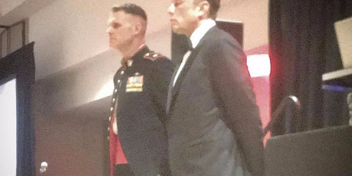Elon Musk Made a Secret Appearance to Elite U.S. Marines and Gave a Stirring Speech