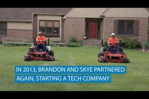 How Two High School Friends Started a Million-Dollar Lawn Mowing Business