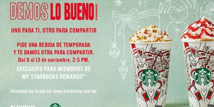 Starbucks regalará bebidas este fin de semana