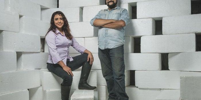 Los ingenieros de la UNAM que le dan una segunda vida al unicel