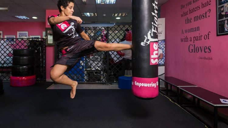 Fighting The Status Quo: Lina Khalifeh Sets Out To End Violence Against Women With Her SheFighter Academy